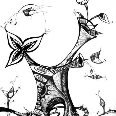 Plant harmony | Armonia vegetal | 63x48cm | Ink on paper