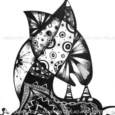 Plant strength | Fuerza vegetal | 63x48cm | Ink on paper
