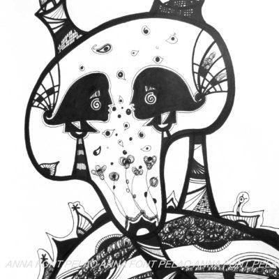 Animal nobility | Nobleza animal | 48x35cm | Ink on paper